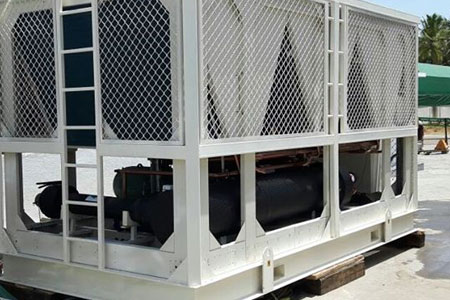 Rent 116TR Air-Cooled Chillers