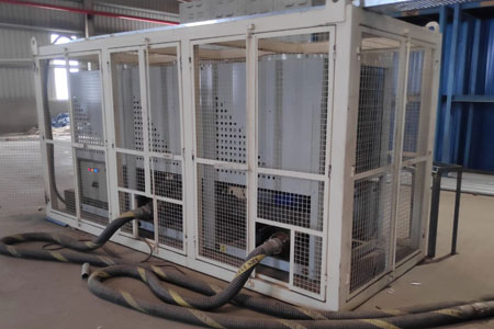34TR Chillers for Hire in India