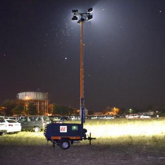 Mobile Lighting Tower Rental