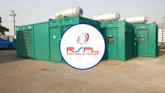 Generator Rental - RSPL LIMITED