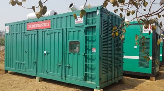 Generator on Rent For Hotels